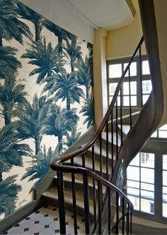 Trend Alert: Tropical Prints Made Modern. For more inspiration, design tips and home decor ideas follow @SteinTeamNYC