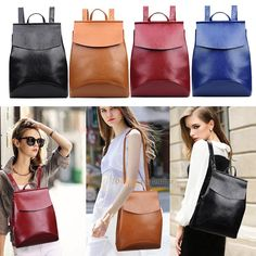 Fashion Women Girl PU Leather Backpacks Mini Travel Rucksack Handbags School Bag #Unbranded #Backpack