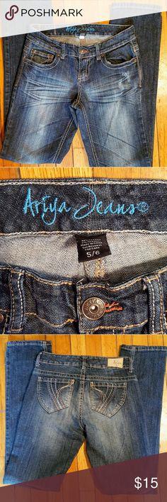Ariya jeans sz 5/6 Dark denim Ariya jeans sz 5/6 Ariya Jeans Straight Leg