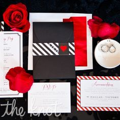 red and black wedding decorations | ... Weddings Invites and Paper Not Engaged Yet Reception Ideas Wedding