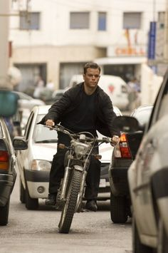 Matt Damon as Jason Bourne in The Bourne Ultimatum <3