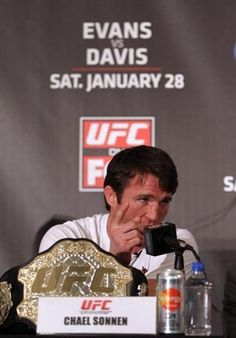 """""""Chael Sonnen: Great promoter or greatest promoter?""""  - This guy ALWAYS entertains!"""