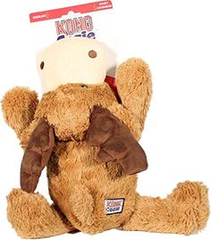 KONG Cozy Marvin Moose, X-Large * You can get more details here : Kong dog toys