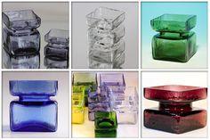 Pala-vase by Helena Tynell. Scandinavian Art, Retro, Lassi, Nordic Design, Glass Collection, Glass Design, Czech Glass, Finland, Glass Art