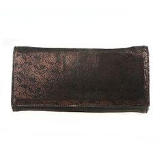 Van Dal Chilmark Black Lace Clutch Bag