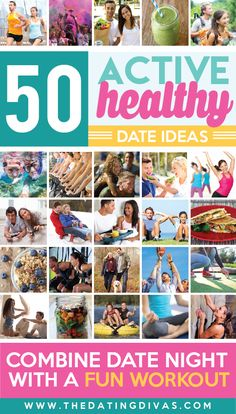 Fun and Healthy dates!! We are doing these this year!!