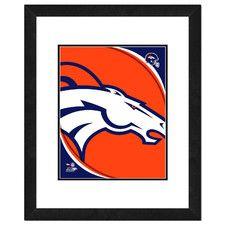 NFL Team Logo Framed Photo
