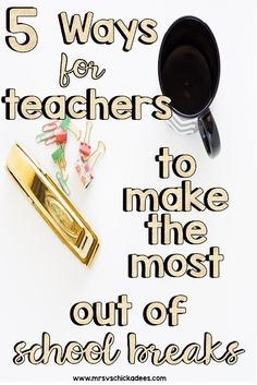 5 Ways for Teachers to Make the Most Out of School Breaks. Tips for teachers to relax during school breaks and prevent teacher burn out. Kindergarten Lesson Plans, Teaching Kindergarten, Preschool, Elementary Teacher, Elementary Education, Teaching Jobs, Teaching Ideas, Planning School, Phonics Lessons