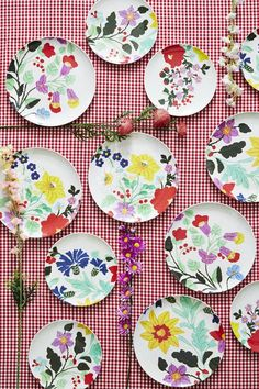 Embroided Plates HS15 collection - design studiosjoesjoe