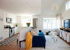 Интерьер гостиной, совмещенной с кухней | Ремонт без проблем