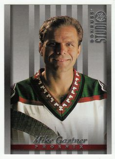 Mike Gartner # 89 - 1997-98 Donruss Studio Hockey