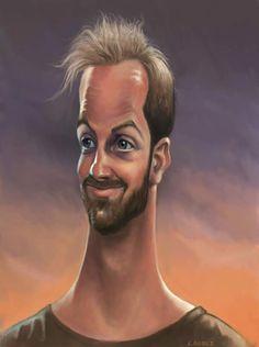 celebrity+caricatures   Chris Elliot