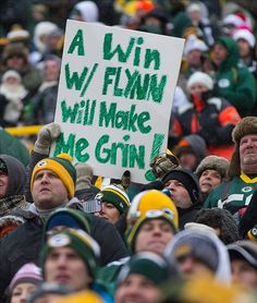 Christmas and a Packers win would be very sweet.