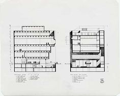 Marcel Breuer. Whitney Museum of American Art. New York. 1966 #architecture #nyc