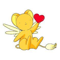 Card Captor Sakura Kero-chan He is so cute I love Kero. ❤