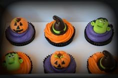Halloween Cupcakes By ellawillow on CakeCentral.com