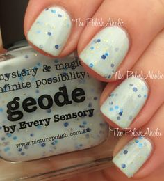 piCture pOlish 'Geode' swatched by The PolishAholic!  Shop on-line now:  www.picturepolish.com.au