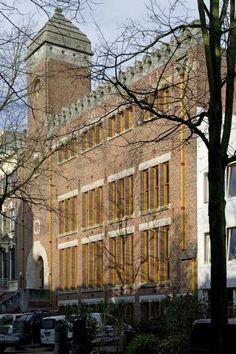Burcht van Berlage: het oudste vakbondsgebouw van Nederland. Foto Arjan Bronkhorst