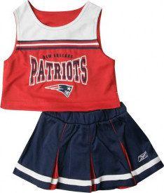 New England Patriots Cheerleading Outfit Uniform Set d73fa2688