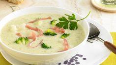 Rezept für eine Blumenkohl-Broccolisuppe - gleich zwei feine Gemüse in einer cremigen Suppe.