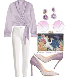 Romano Girls Purple Capri