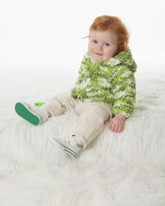 patterns for bernat tizzy yarn | Bernat: Pattern Detail - Tizzy - Baby Jacket (knit). Fun yarn!