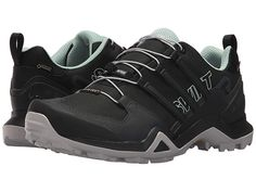 1849f055bb2 adidas Outdoor Terrex Swift R2 GTX(r) Women s Walking Shoes Black Black Ash  Green. Gore TexTrail ...