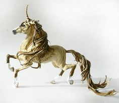 Hey, I found this really awesome Etsy listing at https://www.etsy.com/listing/194913724/brown-unicorn-horse-skulpture-figurine