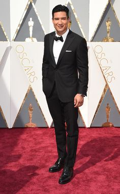 Mario Lopez from Oscars 2016: Red Carpet Arrivals | E! Online