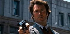 dirty harry. Clint Eastwood is cool, and Harry is the coolest character he's played..
