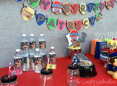 Nick Jr Paw Patrol Inspired Birthday Banner by TheCraftyGodMother