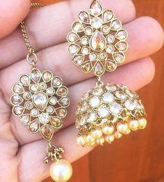 57e4ec5fa @glimour_jewellery — Glimour Jewellery. Bollywood CostumeJhumki EarringsDiamond  ...