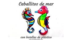 Ideas para convertir botellas de plástico en caballitos de mar - Seahors... Projects For Kids, Crafts For Kids, Cool Art, Fun Art, Easy Diy Crafts, Disney Characters, Fictional Characters, Lily, Ideas