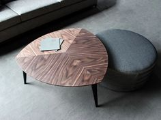Low wooden coffee table STOCKHOLM | Coffee table - VANGUARD CONCEPT
