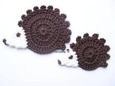 Resultado de imagem para crochet hedgehog free pattern