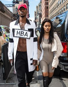 Between crop tops and kilts, Iman Shumpert is showing he's a man who isn't afraid of taking a fashion risk.