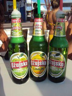 This Croatian beer is amazing! Especially the Lemon flavor.