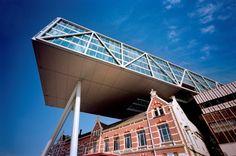 The Old and the New Rotterdam - Unilever Nederland BV / JHK Architecten