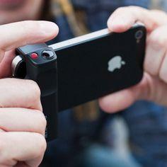 Apple iPhone Shutter Grip  from Photojojo by kowalski