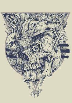 black death paint skull skulls tatoo тату череп черепа
