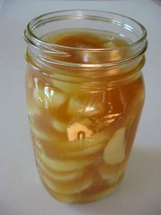 Homemade Canned Apple Pie Filling www.skiptomylou.org