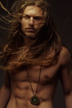 Eddington Howard.  I don't know who he is, but his long blonde hair etc. is Exactly my type of man. :)