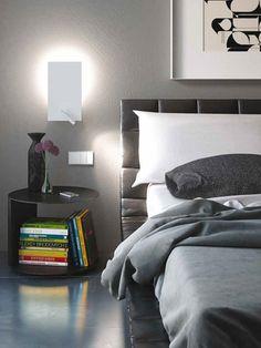 Flat Metal Rectangular Wall Light By Alma 2modern Modern Lights