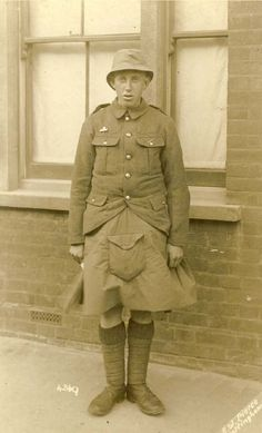 5th Seaforth Highlander of 51st Division in Bedford, April 1915.