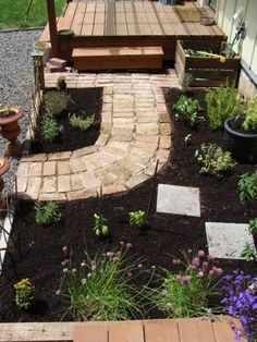 New Herb Garden: Before and After - An Oregon Cottage