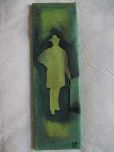 "Saatchi Art Artist Stuart Ridley; Painting, ""HOMAGE TO OSCAR WILDE"" #art"