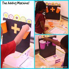 A Kindergarten Smorgasboard of Wednesday Centers! Kindergarten Smorgasboard, Kindergarten Classroom, Kindergarten Activities, Teaching Math, Preschool, Classroom Ideas, Math Addition, Addition And Subtraction, Math Work