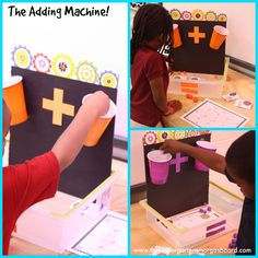 The Adding Machine makes a great hands on addition center!
