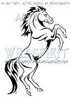 Image detail for -Rearing Horse Tribal Design by *WildSpiritWolf on deviantART Tribal Horse Tattoo, Horse Tattoo Design, Tribal Art, Tribal Tattoos, Tattoo Designs, Horse Stencil, Stencil Art, Stencils, Horse Drawings