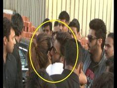 OMG ! Ranveer Singh KISSES Priyanka Chopra caught in camera.